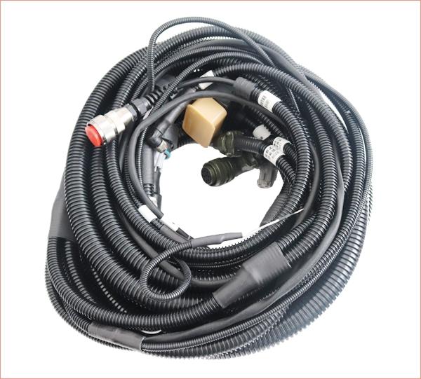 Roller wiring harness